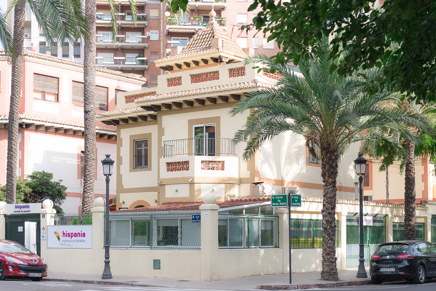 Hispania - edificio principal